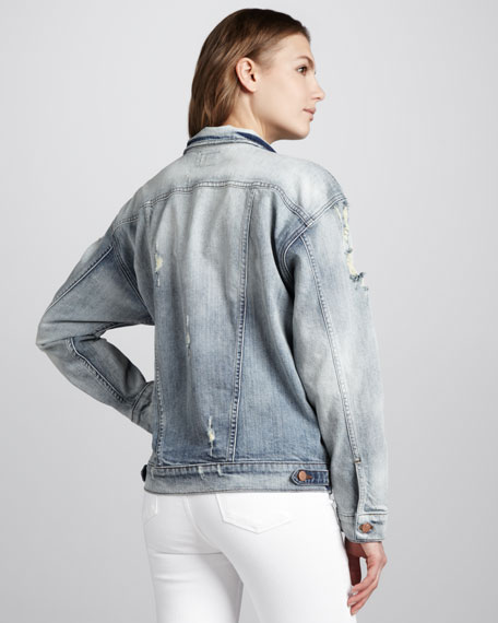 Tattered Boyfriend Jacket