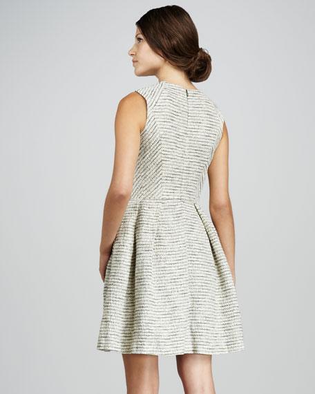 Bridgette Sleeveless Striped Dress