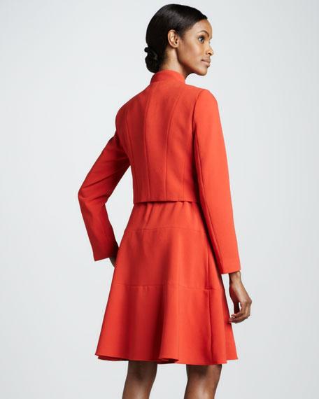 Dress with Bolero Jacket Set