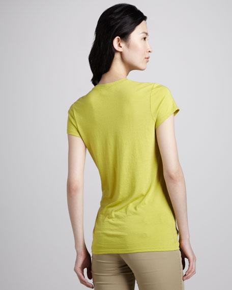 Slim Short-Sleeve Slub Tee