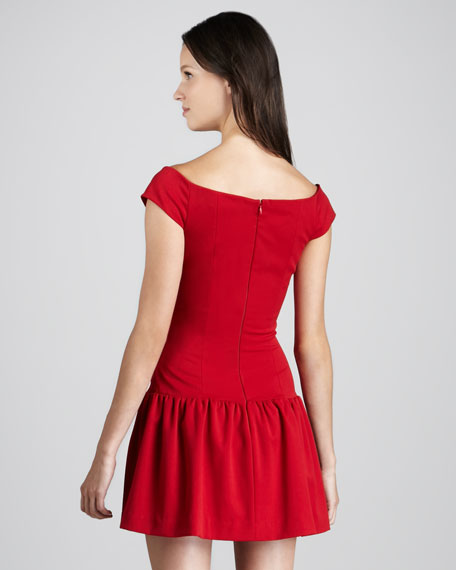 Lisette Off-The-Shoulder Dress