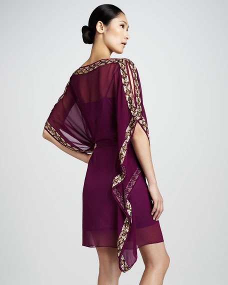 Beaded Caftan Dress