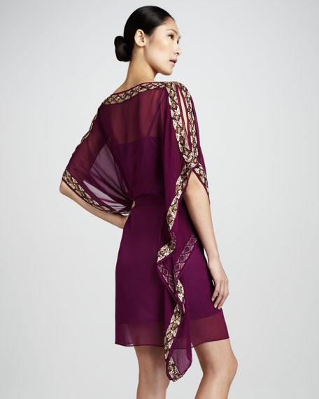 Beaded Caftan Dress