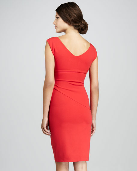 Jori Cap-Sleeve Dress