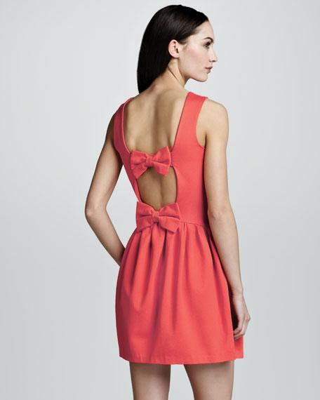 Bow-Back Dress, Ibisco
