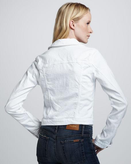 Bonnie Cropped Denim Jacket