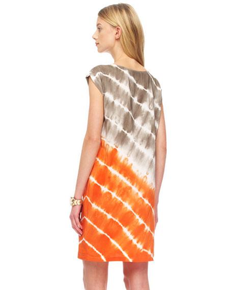 Relaxed Tie-Dye Dress