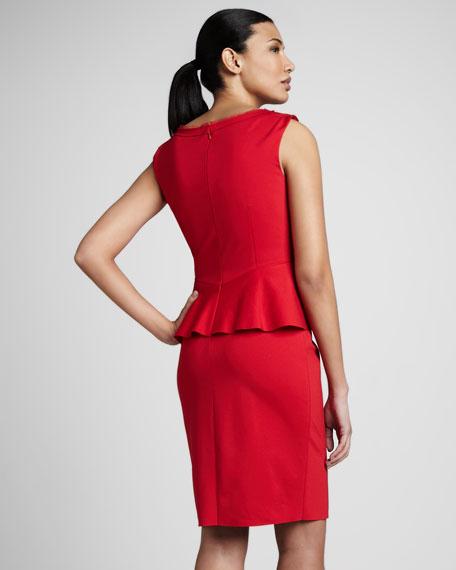 Maura Peplum Dress