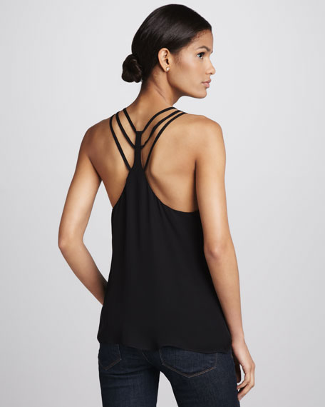 Sleeveless Strappy Top