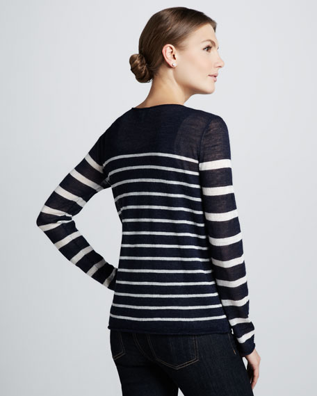 Moanna Striped Sweater