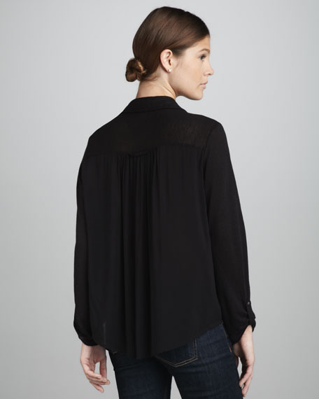 Brady Pleated Blouse