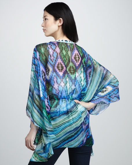 Printed Caftan Top