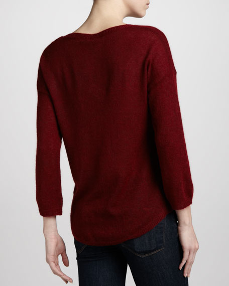 Semisheer Bateau Sweater