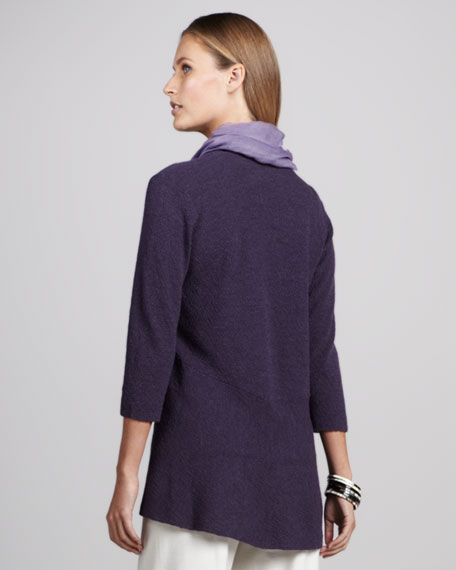Washable Long Wool Cardigan, Women's