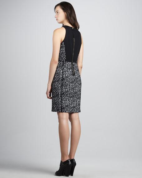 Knit Leopard-Print Dress