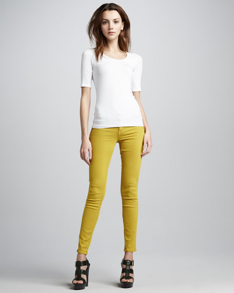 Legacy Skinny Jeans, Colonel Mustard