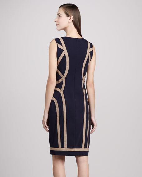 Bandage-Seam Cocktail Dress