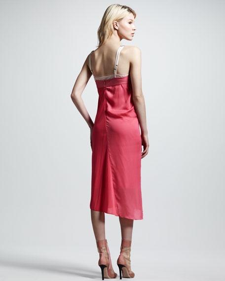 Patchwork Slip Dress