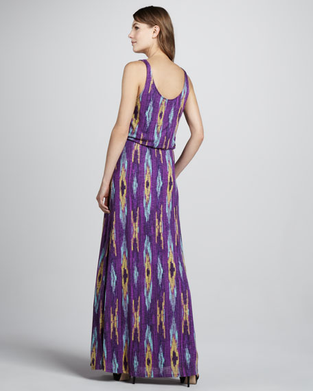 Santa Fe Printed Maxi Dress
