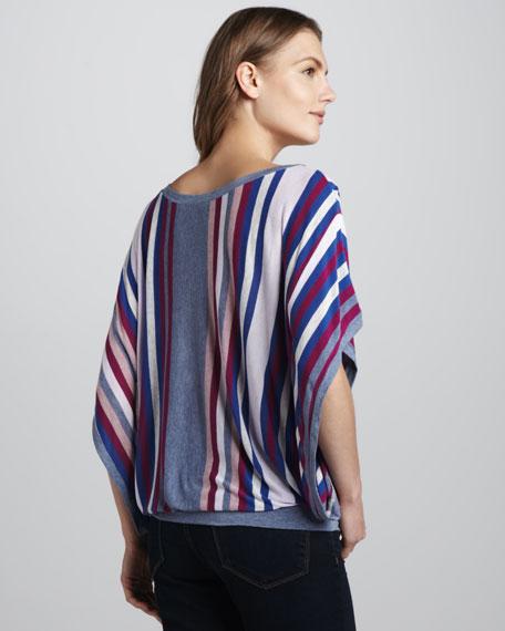 Zoey Striped Slub Top