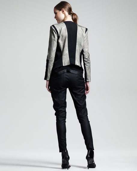 Rift Stretch Leather Jacket