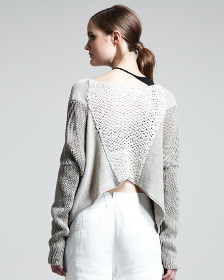 Mix-Knit Sweater