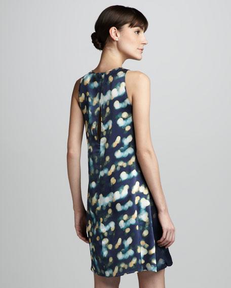 Roni Light-Print Dress