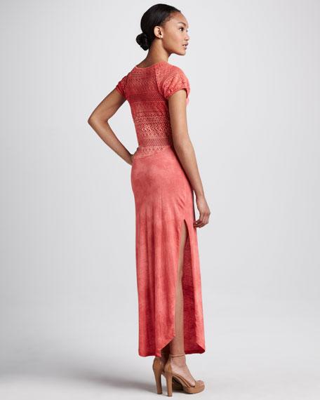 Strawberry Maxi Dress