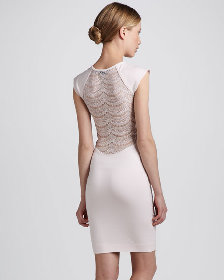 Dani Lace-Back Dress