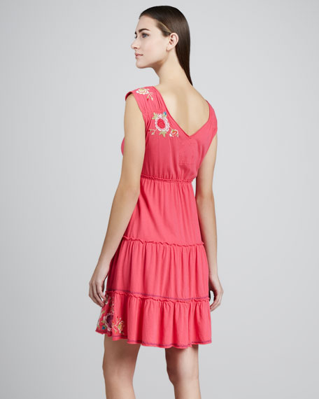 Landon Tiered Cotton Dress