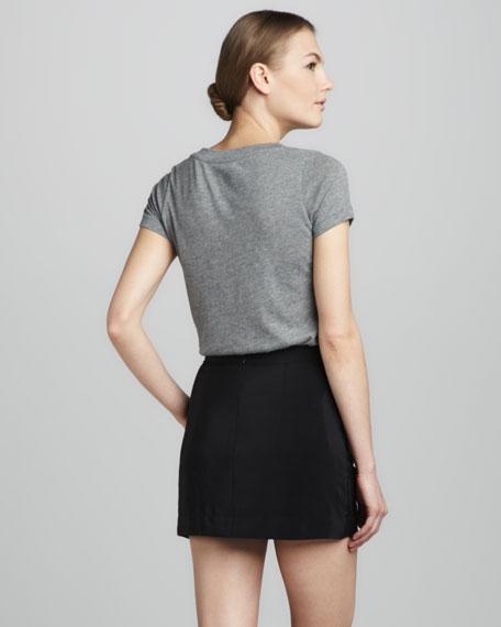 Fitted Miniskirt