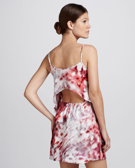 Lolly Printed Silk Dress