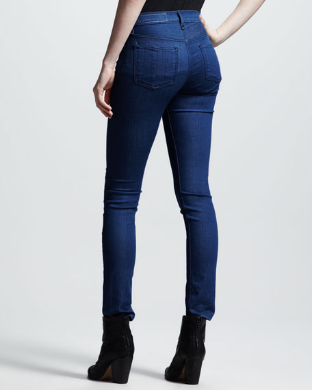 The High-Rise Skye Lightweight Skinny Jeans