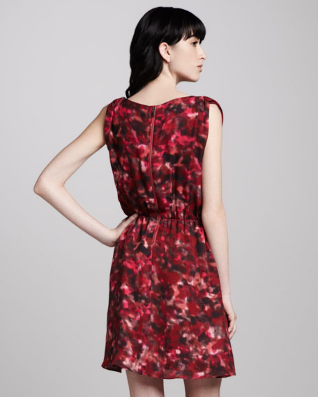 Belinda Cowl-Neck Dress