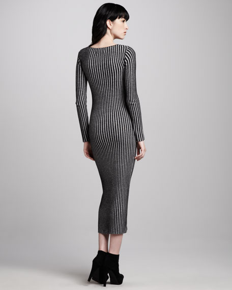 Zella Long Ribbed Dress