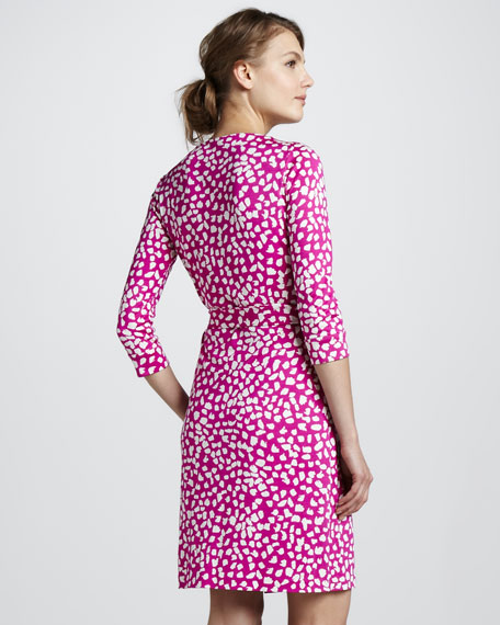 New Julian Printed Wrap Dress