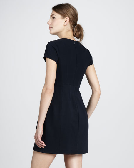 Agatha Knit Suiting Dress
