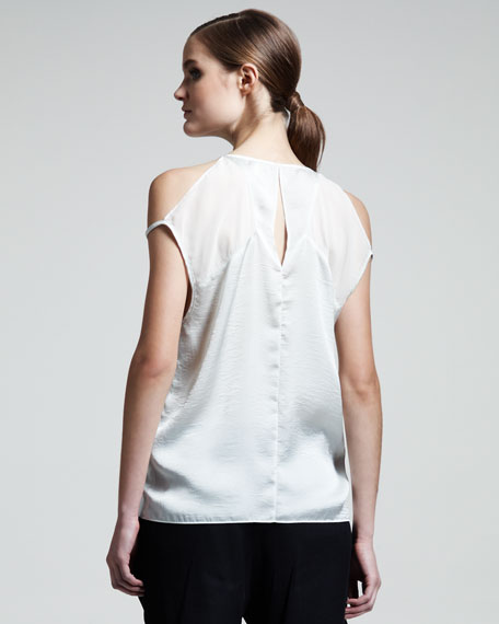 Chroma Draped Top