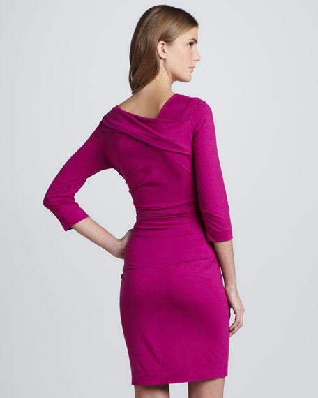 Bentley Ruched Short Dress