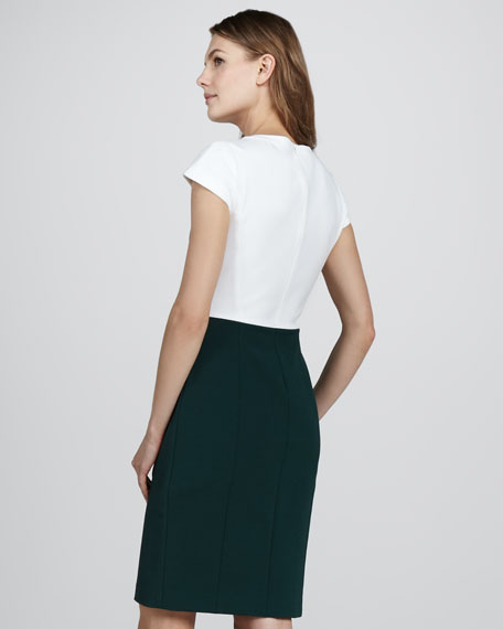 New Recovery Two-Tone Dress, Julep