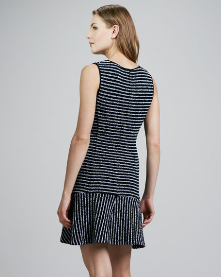Nikay Striped Flare Dress