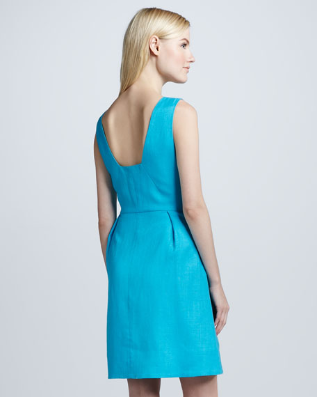 cleo open-back dress