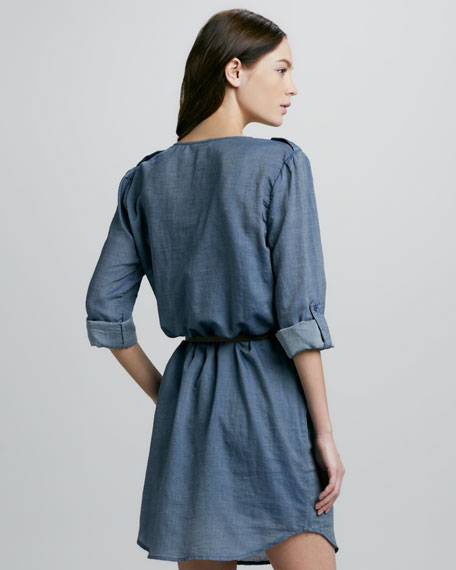 Joie Rathana Chambray Shirtdress
