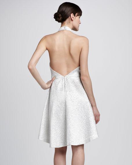 Corina Trapeze-Hem Dress