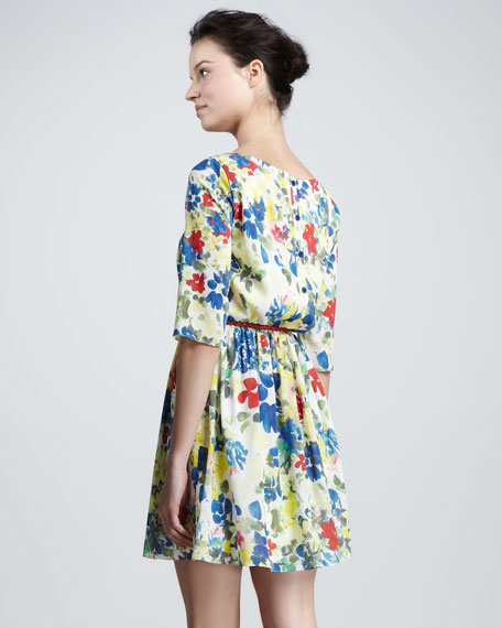 Grier Belted Dress