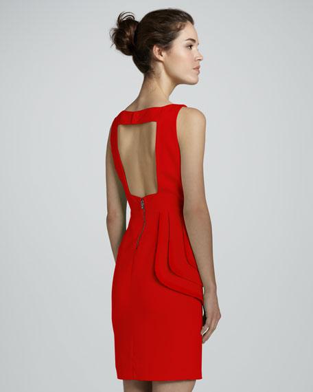 Spelling Side-Peplum Dress