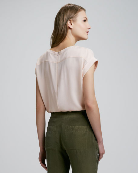 Saleeya Loose Crepe Top