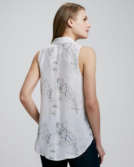 Earheart Blossom-Print Blouse