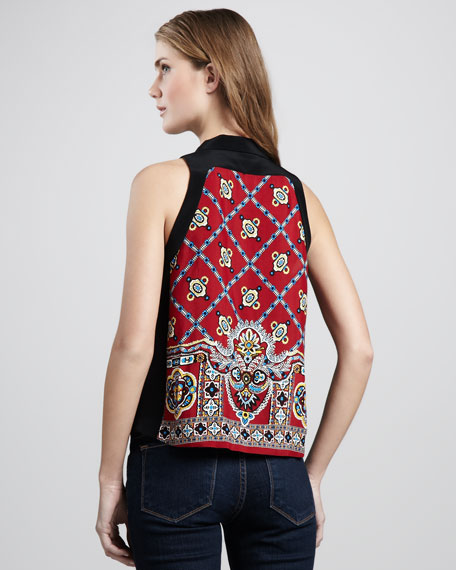 Bandana Sleeveless Top