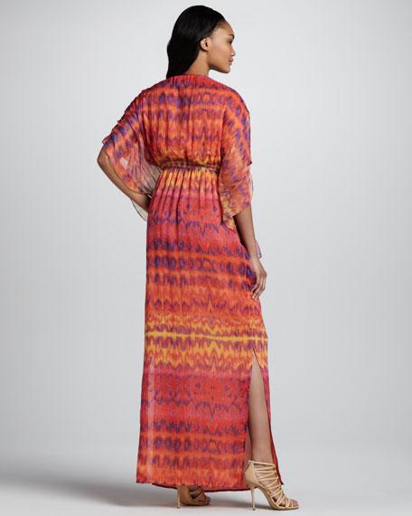 Embellished Caftan Maxi Dress